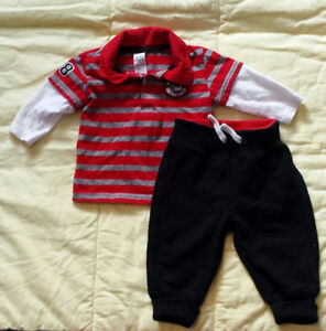 Baby boy clothing size 3-6 months (fall/winter)