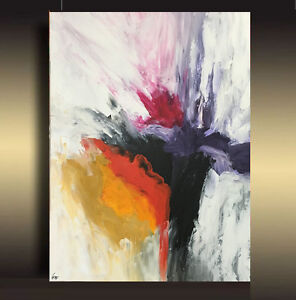 Large Abstract Painting Acrylic Canvas Painting Wall Art