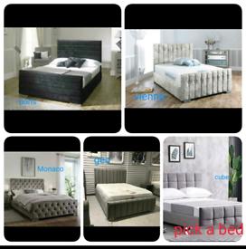 👌💥BRAND NEW BEDS💥 👌🛷SLEIGH & 🛌DIVAN BEDS made in🇬🇧 💥💢🌈🆓🚚