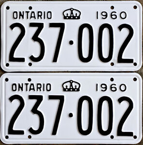 YOM Licence Plates For Your Old Auto - Ministry Guaranteed!