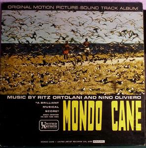 MONDO CANE Vinyl LP OST from 1962 *RARE CULT CLASSIC* Kitchener / Waterloo Kitchener Area image 1