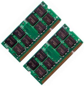 2GB, 1GB, 512MB DDR2 SODIMM Laptop Notebook Memory Ram