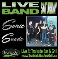 Live Band Saturday - Trailside presents Sonic Suede