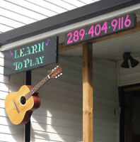 "Guitar Lessons (Millbrook) ""Learn to Play"""