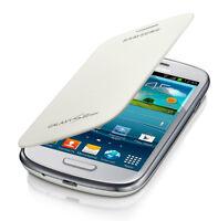 Samsung Galaxy S3 Mini White Flip Cover Case