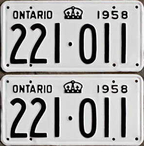 YOM Licence Plates For Your Old Auto - Ministry Guaranteed! Cornwall Ontario image 6