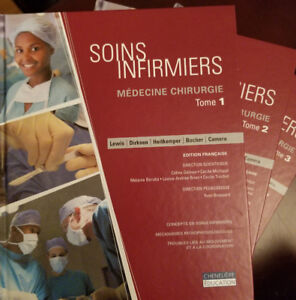 Livres soins infirmiers NEGO