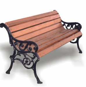 WANTED: Cast Iron Bench