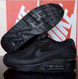Nike air max 90 black - NEW - £40