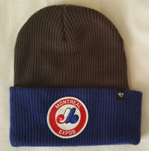 bf4e80d52b5 Montreal Expos MLB Cuffed Knit Beanie Toque Winter Hat
