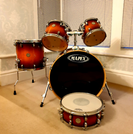 MAPEX MERIDIAN MAPLE FUSION DRUMS
