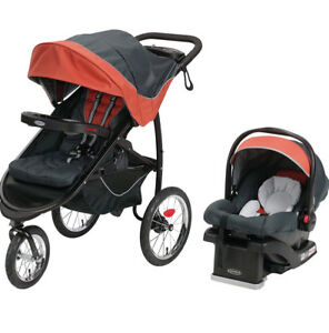 Car seat-stroller combo (graco)with base
