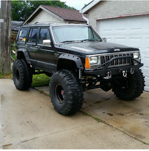 1992 jeep Cherokee special build