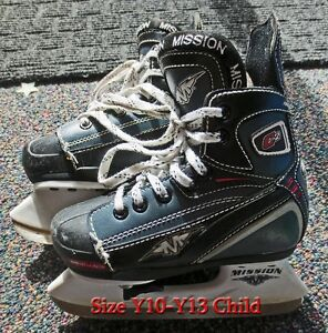 Boys Ice Skates Size 10 Y- 13Y for sale *Already sharpened*