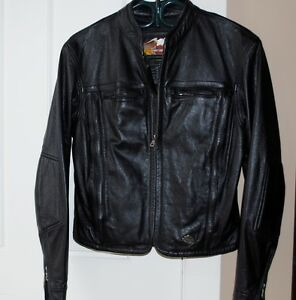 Harley Davidson Leather Jacket - Ladies Small