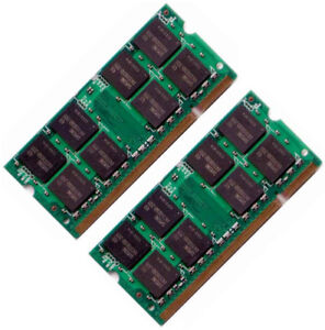 4GB, 2GB, 1GB, 512MB DDR2 SODIMM Laptop Notebook Memory Ram