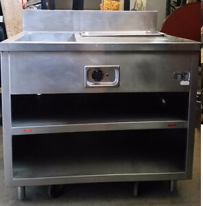 TWO TRAY HOT / STEAM TABLE FOR SALE