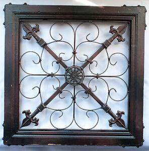 Ornamental Wood/Metal Wall Decor