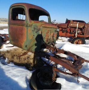 1946 Mercury 1/2 ton Cab + chassis