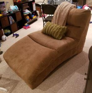 Plush Lounge Chair