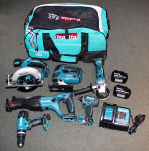 MAKITA 18V 6-TOOL SET