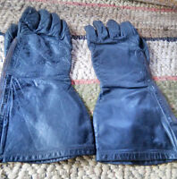 MENS VINTAGE LEATHER MOTORCYCLE GLOVES