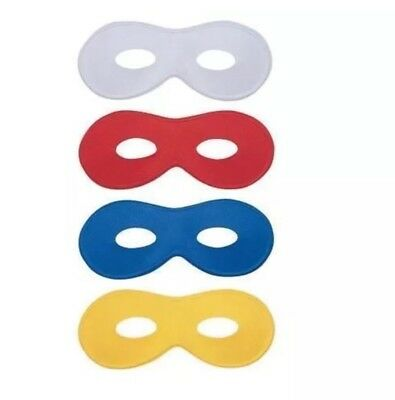 BLUE EYE MASK  MASQUERADE DOMINO FACE SUPER HERO BALL COSTUME PARTY ACCESSORY](Domino Masquerade Costume)