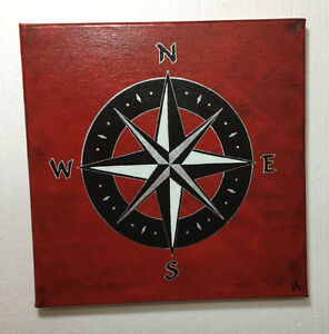 Compass Painting