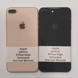 Like New Used Apple Iphone 8 Plus 64gb-256gb Unlocked