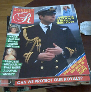 36 Royalty Monthly and Royalty magazines from lat 80's