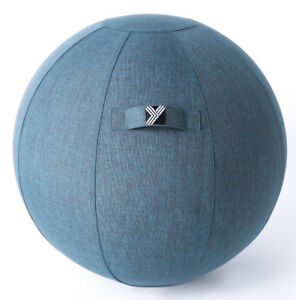 Exercise Ball Chair for Home, Office, Yoga, Stability, Fitness a