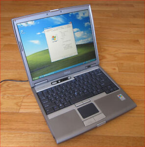 Working Dell Latitude D610 laptop with Windows 7