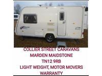 2008 light weight 2 berth caravan +movers MAIDSTONE kent