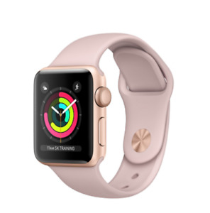 Apple Watch 3 Gold (GPS) New, Open Box - 38 mm, Pink Sand Band