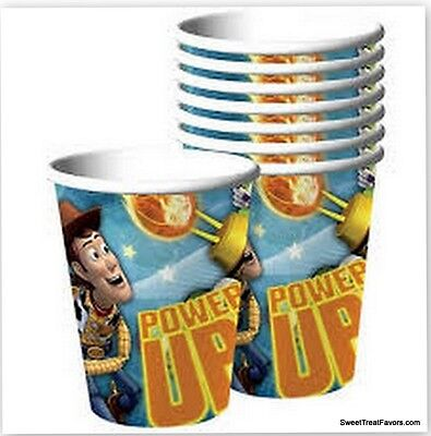 TOY STORY Party Supplies CUPS x8  Birthday Decoration Woody Buzz Favors Cowboy ](Cowboy Birthday Supplies)
