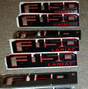 2015/17 - FORD F150 LARIAT --- BADGES - $90