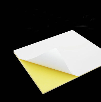 Matte Surface Inkjet Paper - Matte Surface paper A4 Label Sticker For Inkjet Printer Self-adhesive Sticker 50