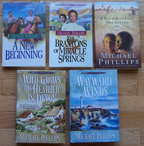 REDUCED! Michael Phillips -Fiction -Historical Christian Romance