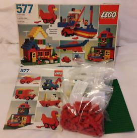 Vintage Lego Set Number 577