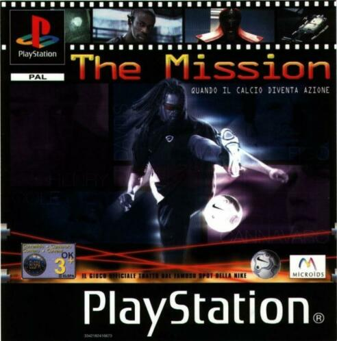 The Mission (PS1 tweedehands game)