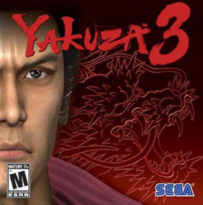searching for Yakuza 3 for the PS3.