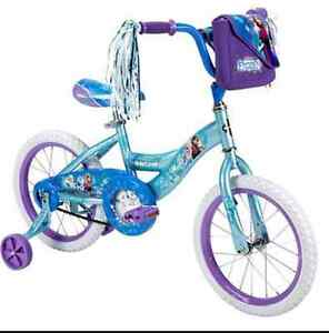 "Disney Frozen Huffy 18"" girls bike NEW"