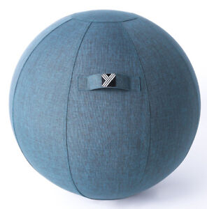 Exercise Ball Chair for Home, Office Yoga Stability Fitness