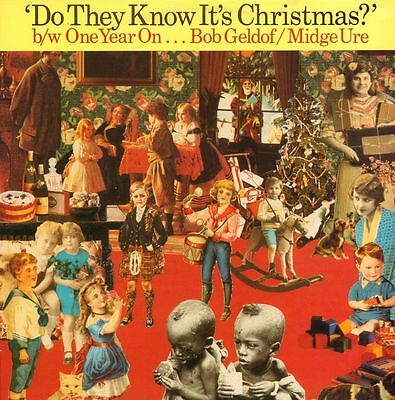 "Band Aid(12"" Vinyl)Do They Know It's Christmas / One Year On-Mercury-FE-Ex/VG"