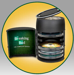 Breaking Bad Bluray Collection Barrel rare