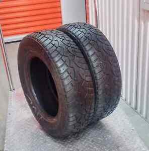 Set of two 185/70/14 Wanli winter tires