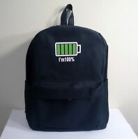 Brand New Trendy Small Size Battery Design Backpack