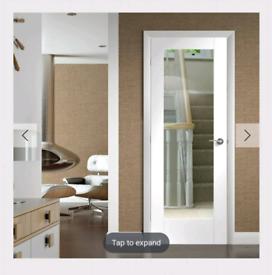 Glazed internal door brand new