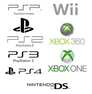 REPAIRS PS4 PS3 Wii XBOX ONE 360 PS2 GAMES JEUX REPARATION PARTS