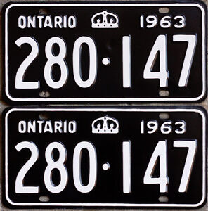 YOM Licence Plates For Your Old Auto - Ministry Guaranteed! Kitchener / Waterloo Kitchener Area image 7